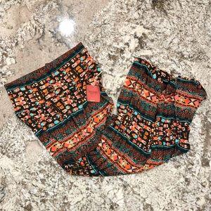 Mossimo Maxi Shirt Aztec Pattern